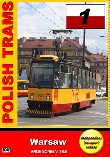 Polish Trams 1 - Warsaw